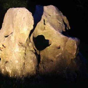 Zen Steine beleuchten