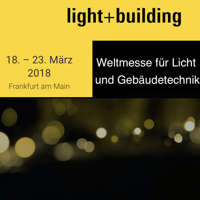 Light +Building Messe 2018