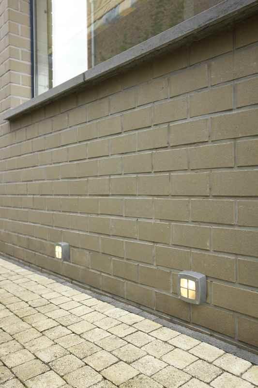Beispiel Aluminium Anwendung Wand