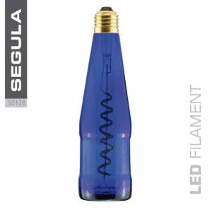 Bierflaschen Leuchtmittel blau