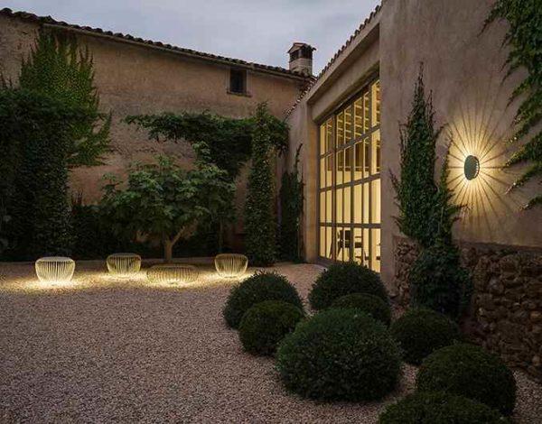Traumhafte Wand und Gartenleuchten