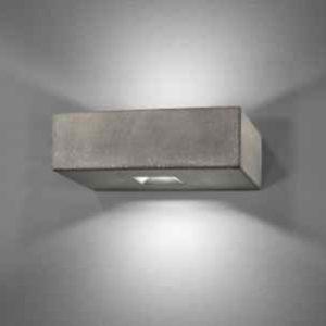 moderne Beton Wandlampe außen