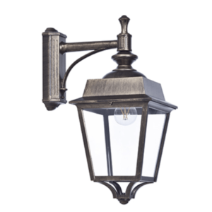 Wandlampe für Hausecke