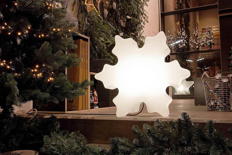 Weihnachtsbeleuchtung Für Draußen.Leuchtender Eiskristall Weihnachtsbeleuchtung Für Drinnen Und Draußen