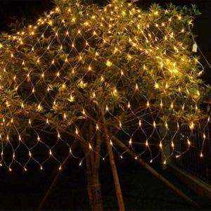 Weihnachts Lichtnetz außen