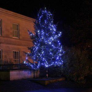Weihnachtsbaum beleuchten