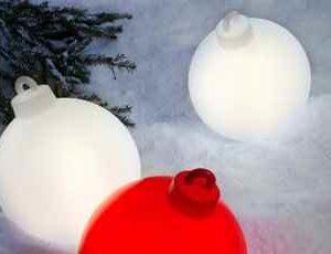 Weihnachtsbaumkugel außen
