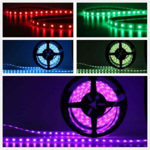 farbwechsel LED Lichtschlauch außen