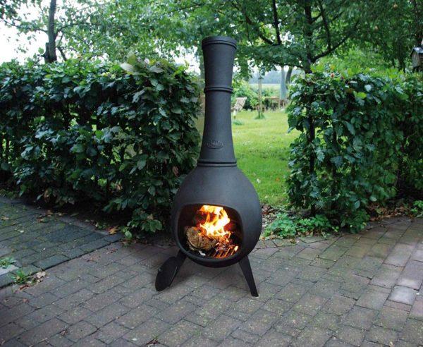 Feuer und Grill Terrassenofen