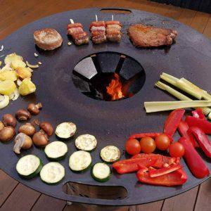 Garten Feuerplatte zum Grillen
