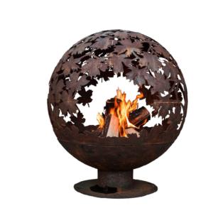 Romantische Feuerstelle