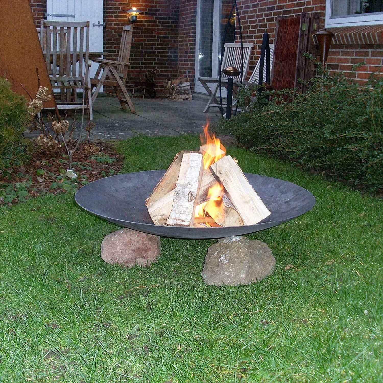 Stahl Feuerstelle 120cm Ein Echter Hingucker Im Garten