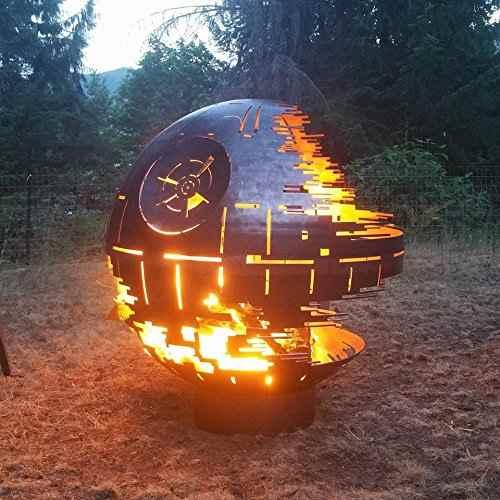 außergewöhnliche Feuerstelle