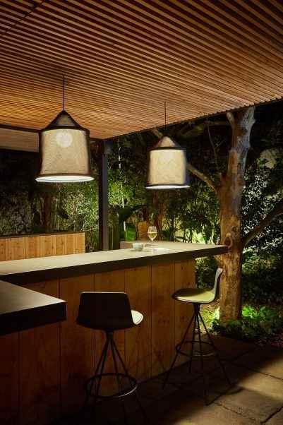 gro e stoffschirm deckenleuchten au en spendet diffuses zonenlicht. Black Bedroom Furniture Sets. Home Design Ideas