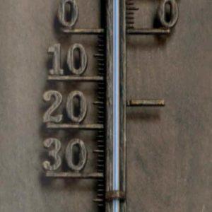 Großes Thermometer außen