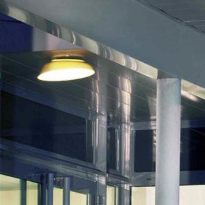 LED Decken und Wandleuchte außen