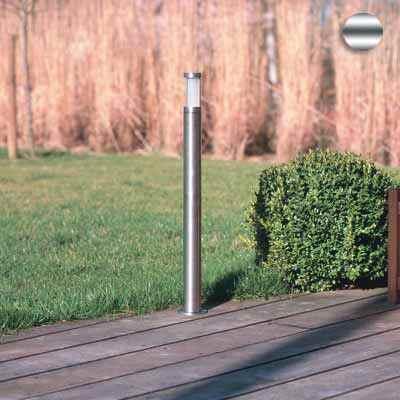 60mm Gartenleuchte aus Edelstahl in 3 Höhen