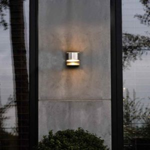 Aluminium Design Wandleuchte außen
