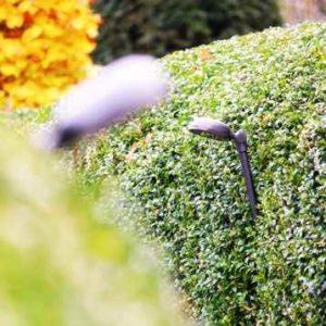 Blendfreie Gartenleuchte zum stecken