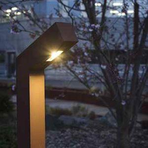 Cortenstahl Außenlampe in 2 Größen