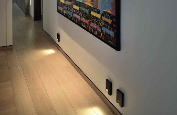 Design Wandeinbau Orientierungslicht Anwendungsbeispiel Innen