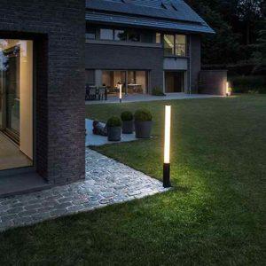 Gartenleuchten Lichtsäulen
