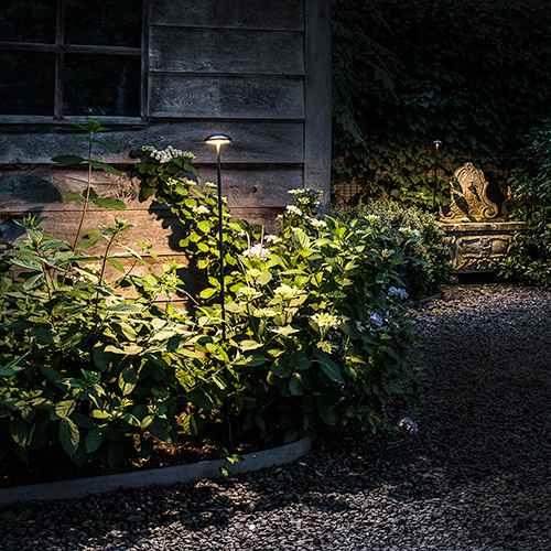 Inspirationen Led Sonnenschirm Beleuchtung Rawyler S 2018: Indirekte Gartenbeleuchtung Mit Kupfer Spießleuchten