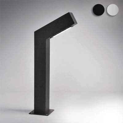 Indirekte Weg Außenlampe schwarz in 2 Größen