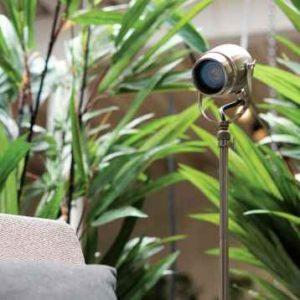 Stehleuchten außen mit LED Strahler