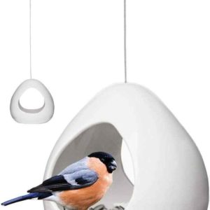 Kleine haengende Vogel Futterstation