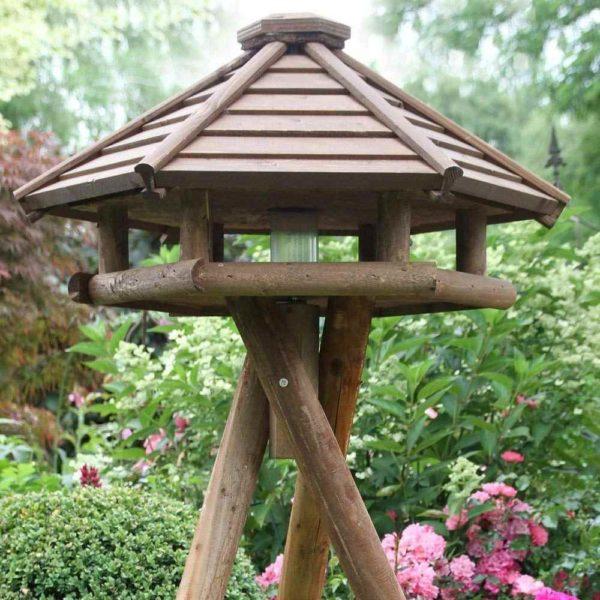 Stabiles Futter Vogelhaus