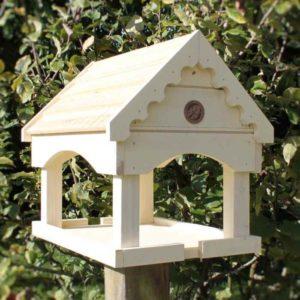 Vogel Futterhaus für Holzpfahl