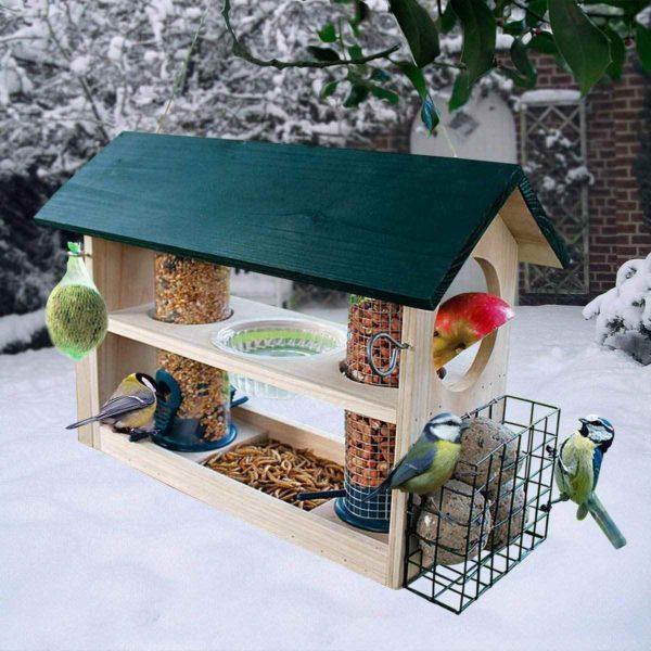 Vogel Futterstation Garten