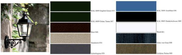 Farbmöglichkeiten der Laternern