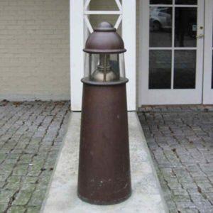Leuchtturm Außenlampe Kupfer