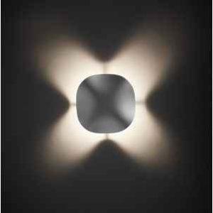 Futuristische Wandlampe außen