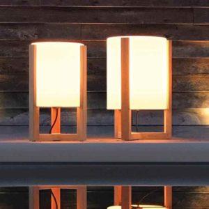 Schöne Tischlampen für außen