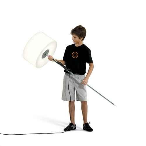 Flexible Stehlampe für außen mit Spieß