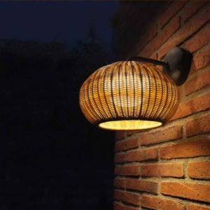 Mediterrane Wand Anbaulampe außen