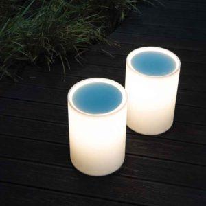 Mobile LED Lampe für außen