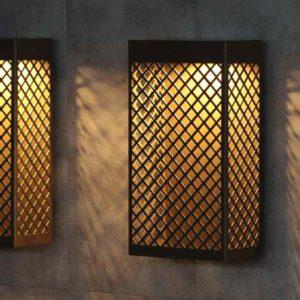 LED Gitterwandleuchten außen