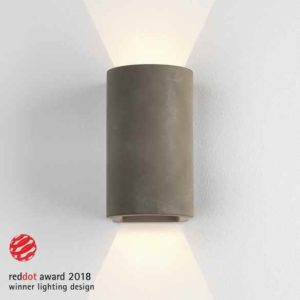 Beton Wandlampe up + down
