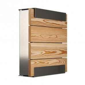 Briefkasten Holzdesign