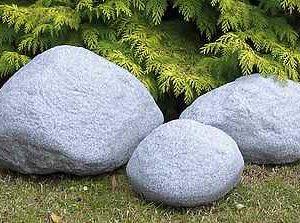 Granit Leuchtstein Gartenleuchten