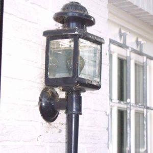 Kutscherlampen außen
