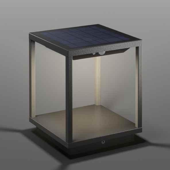 Solarleuchte Kubus für außen