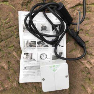Erdkabel Anschlussset IP44 Garten Beleuchtungssystem