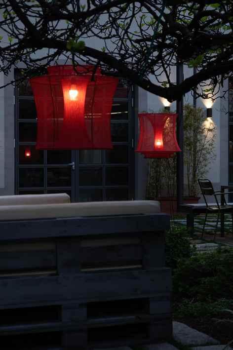 Hänge Außenleuchten für Bar und Terrasse