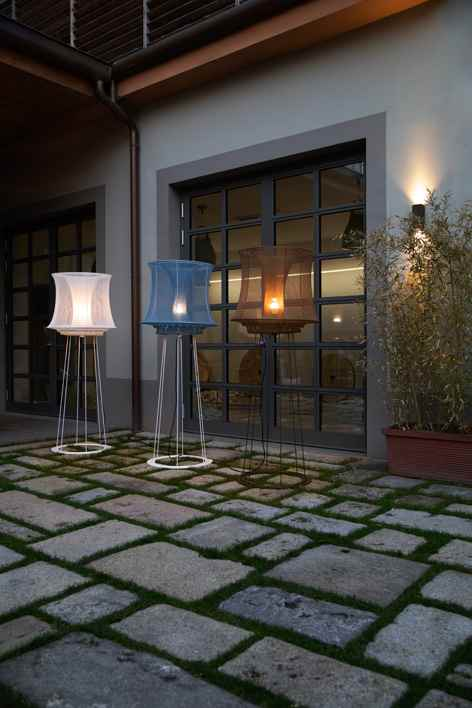 Romantische Außen Stehlampen