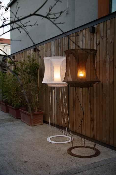 Romantische Außenleuchten für die Terrasse